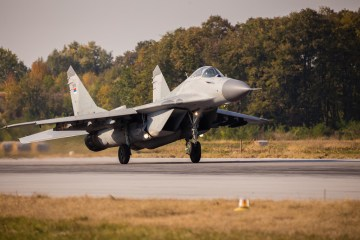Mig-29 Fulcrum Serbian Air Force