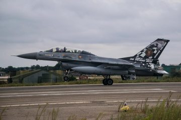 F-16AM/BM Belgian Air Force in Italia al 36° Stormo
