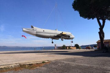 trasporto atlantic a vigna di valle museo aeronautica militare