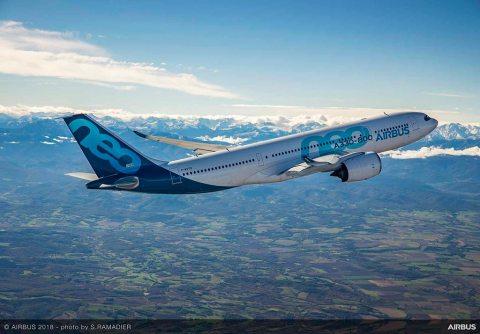 Primo volo Airbus A330-800