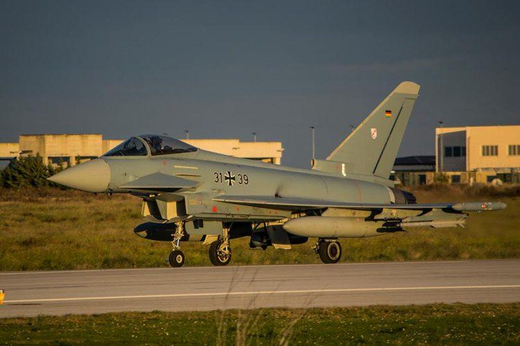 Eurofighter Typhoon Luftwaffe