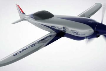 velivolo elettrico più veloce al mondo rolls-royce accel