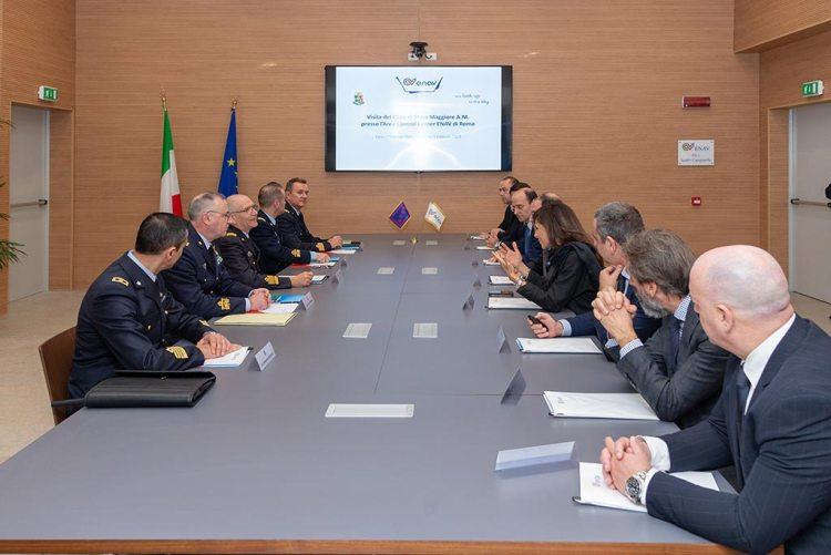 Incontro Aeroautica Militare ed ENAV 2019