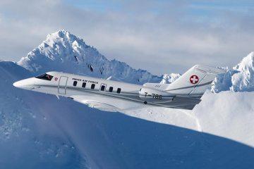 Il nuovo pc24 super versatile jet del governo svizzero