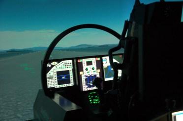 Simulatore dell'Eurofighter Typhoon