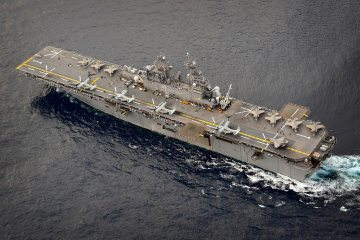 Esercitazione Balikatan 2019 USS Wasp F-35