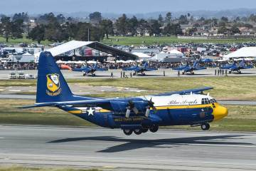 C-130T Fat Albert Blue Angels