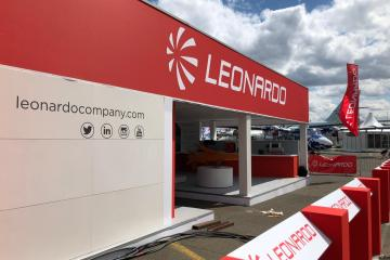 Leonardo al Paris Air Show Le Bourget 2019