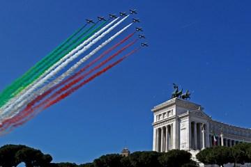 Sorvolo Frecce Tricolori per Festa della Repubblica 2019