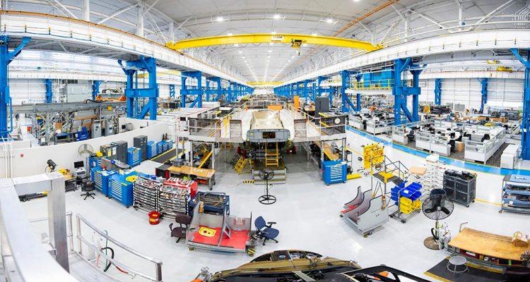 nuova fabbrica Boeing per i V-22 Osprey