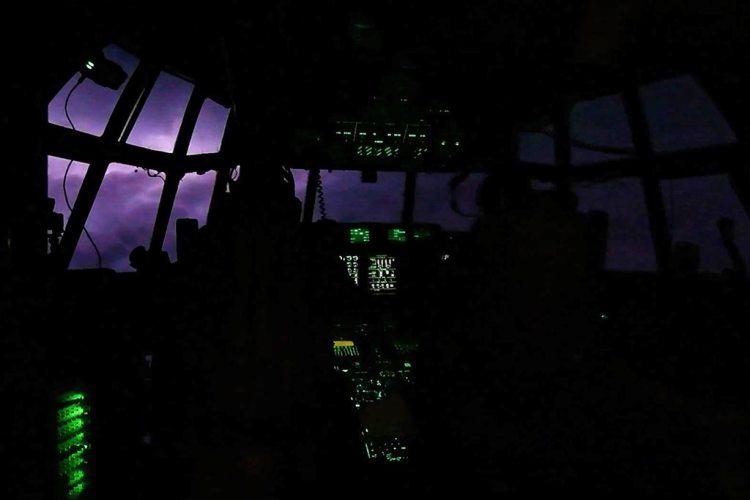 USAF WC-130J Hercules Hurricane Hunters - Dorian 2019