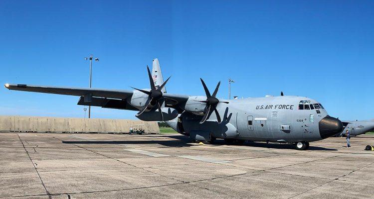 USAF WC-130J Hercules Hurricane Hunters