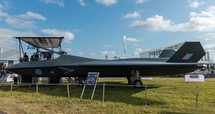 UK Tempest Fighter Jet