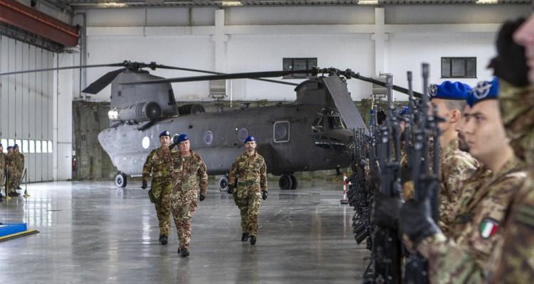 Cambio di comando al 3° REOS Viterbo 2019