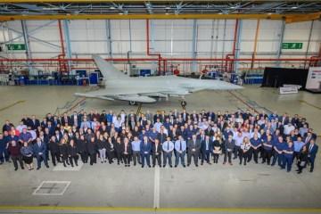 Consegnato ultimo Typhoon per la RAF