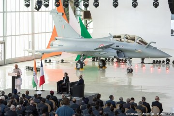 Primo Rafale per la Indian Air Force