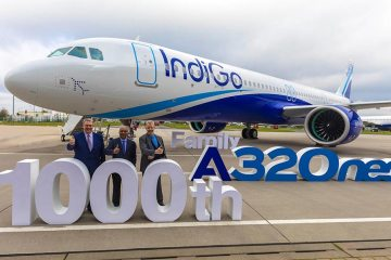 IndiGo 1000th Airbus A320 Family