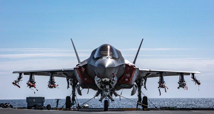 UK F-35B Beast Mode