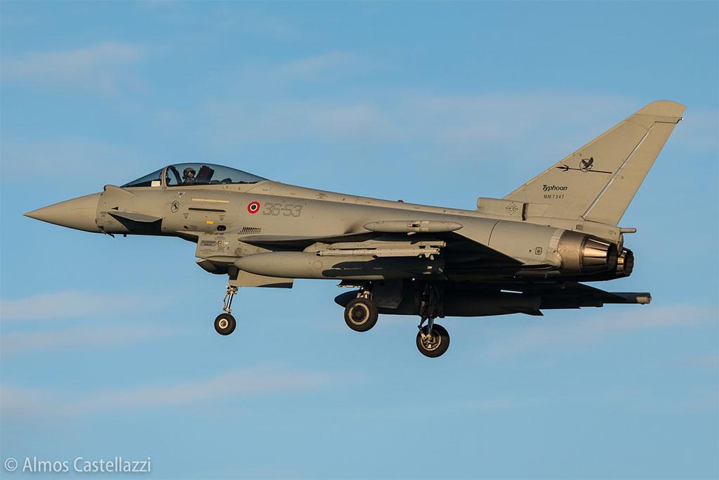 Eurofighter AM chase F35 @ Almos Castellazzi
