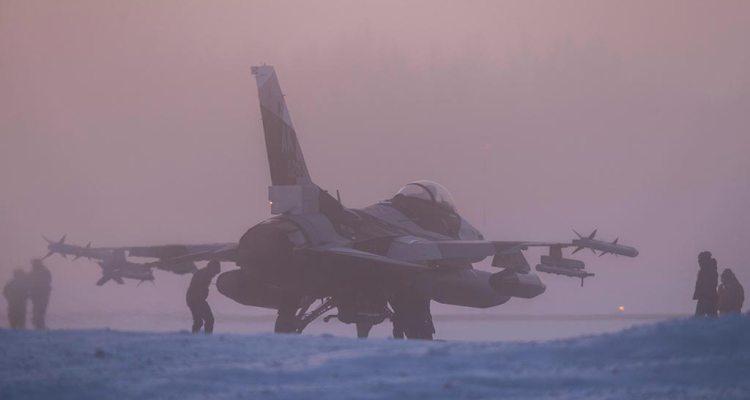 USAF F-16 18th Aggressor Squadron