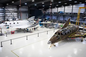 Virgin Galactic seconda Spaceship