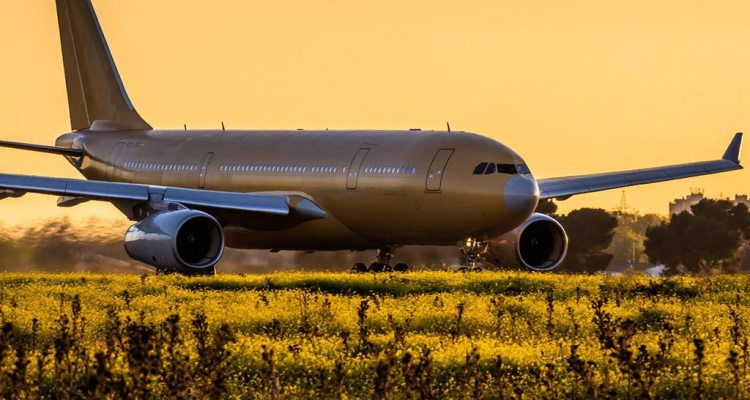 Airbus A330-MRTT decollo