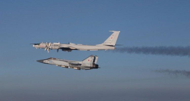 F-35A norvegesi intercettano per la prima volta velivoli militari russi