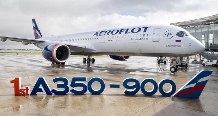 Primo A350-900 di Aeroflot MSN383