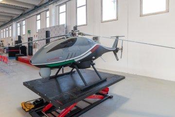 Leonardo sistemi ad ala rotante a pilotaggio remoto