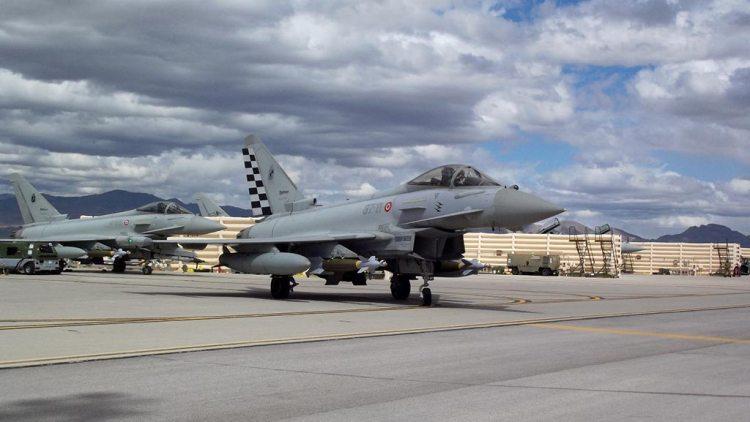 Eurofighter Aeronautica Militare esercitazione Red Flag 2020 - 2