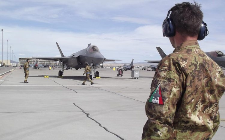 F-35A Aeronautica Militare esercitazione Red Flag 2020 - 2