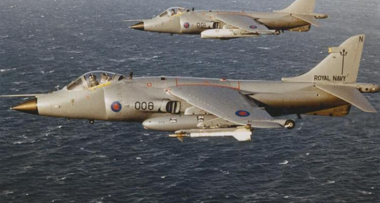 UK Sea Harrier FRS Guerra delle Falklands