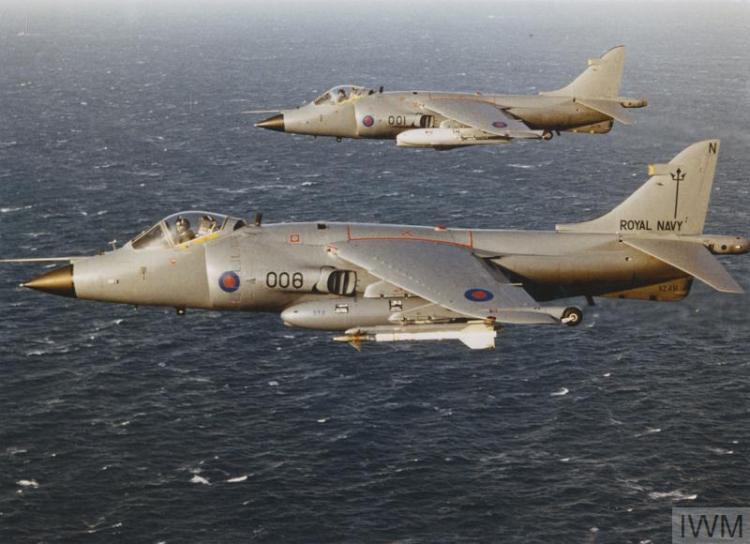 UK Sea Harrier FRS Guerra delle Falklands