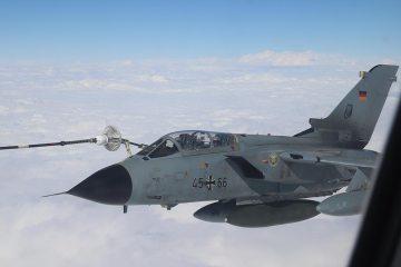 Tornado Luftwaffe a2a refueling
