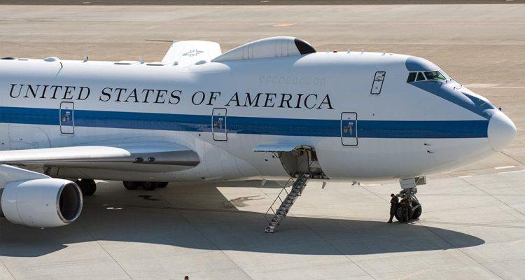 USAF Boeing E-4B Doomsday Plane