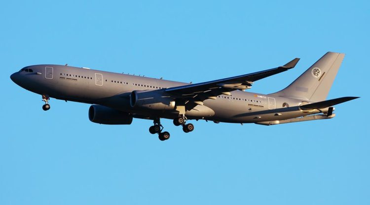 Rifornitore aereo Airbus A330 MRTT della NATO Multinational MRTT Fleet