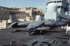 Sea Harrier FRS1 ZD581 801 Sqn Ark Royal