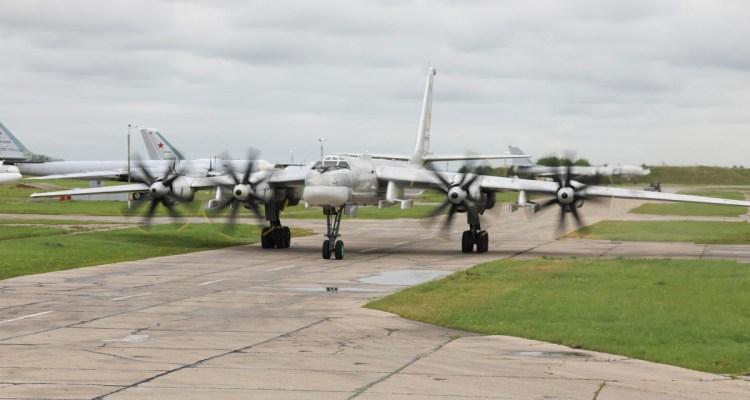 bombardieri strategici russi Tupolev TU-95MS Russian Air Force