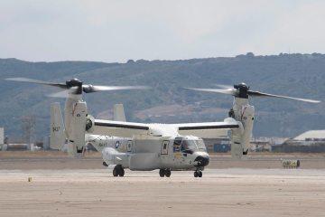 US Navy CMV-22B Osprey
