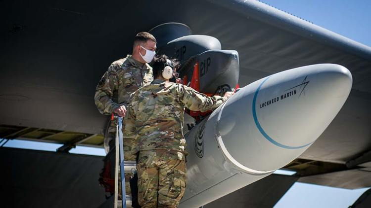 missile ipersonico Lockheed Martin AGM-183A ARRW
