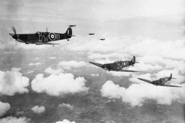 Royal Air Force Spitfire - Battaglia d'Inghilterra