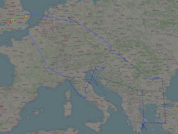NATO allied sky 2020 sorvolo
