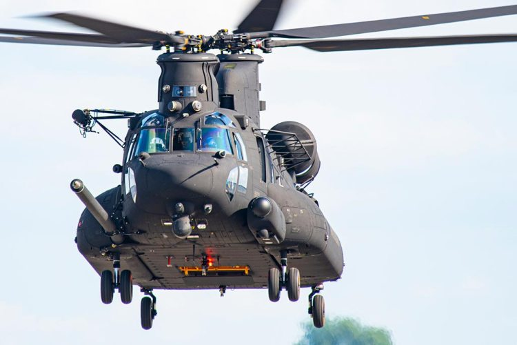 US Army MH-47G Chinook block 2