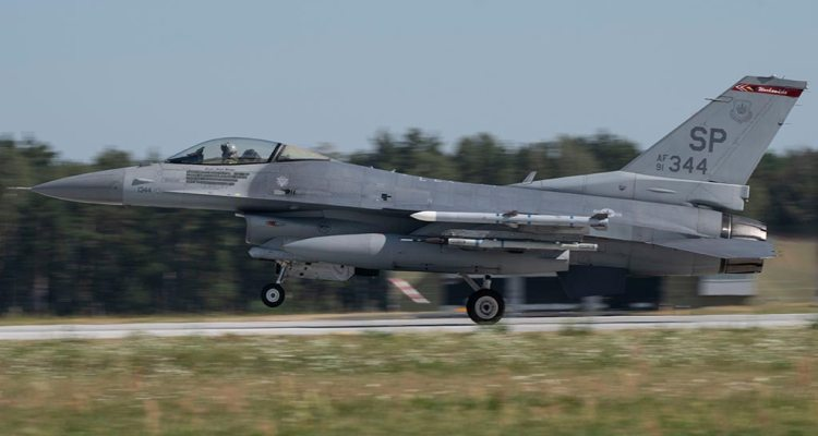 F-16 del 52nd FW usafe in Germania