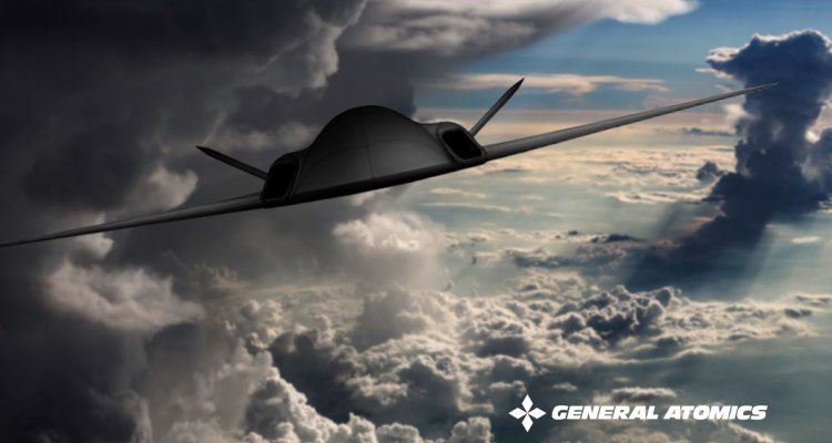 General Atomics stealth drone