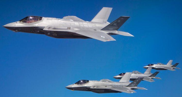 F-35A americani e F-35I Israeliani