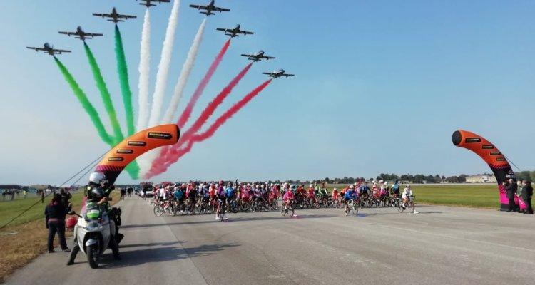 Frecce Tricolori al Giro d'Italia 2020