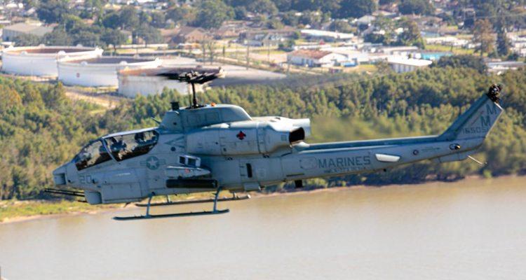 Elicottero da combattimento AH-1W Super Cobra