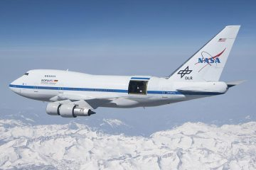 NASA SOFIA B747SP
