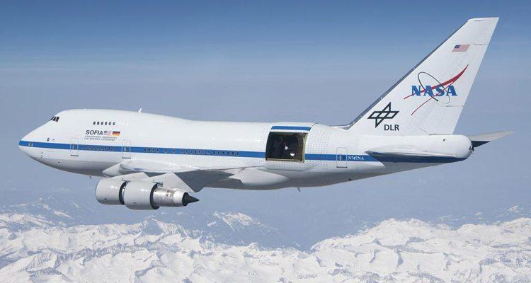 NASA SOFIA B747SP